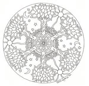 mandalas to color for adults mandalas coloring mandala