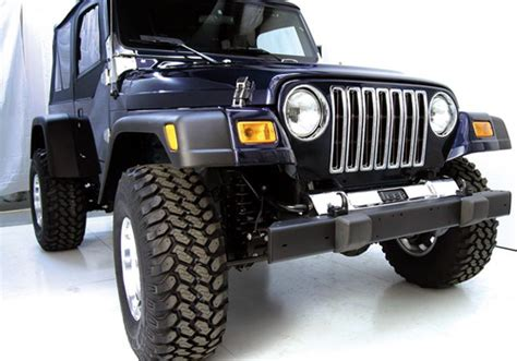 1998 Jeep Fender Flares Rugged Ridge Jeep Wrangler 7 Quot Fender Flares