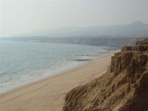 russian beaches water sand and rock the beaches of karachi pakistan