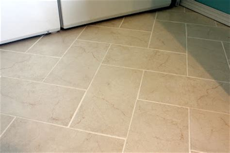 sweet  designs diy herringbone tile floor