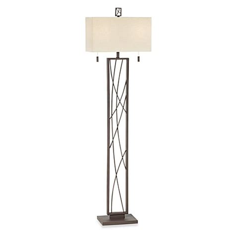 bed bath and beyond crossroads pacific coast lighting 174 crossroads twin light floor l