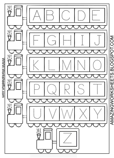 printable alphabet letters uppercase worksheets uppercase tracing opossumsoft worksheets and