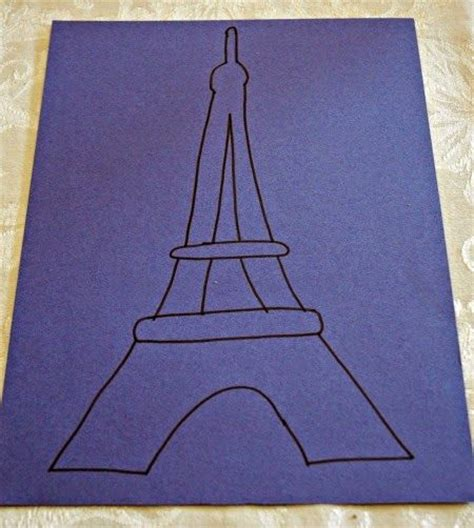 eiffel tower craft for 1000 ideas about eiffel tower craft on