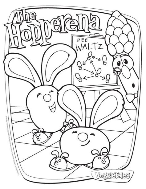 coloring pages veggie tales az coloring pages