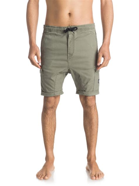 Sweety Fit Silver M 30 sweet melt 18 quot cargo shorts eqyws03267 quiksilver