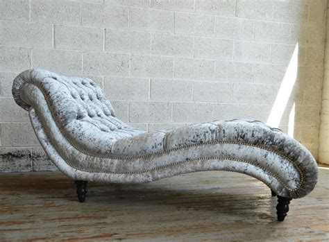 chaise longue chesterfield bude velvet chesterfield chaise lounge abode sofas