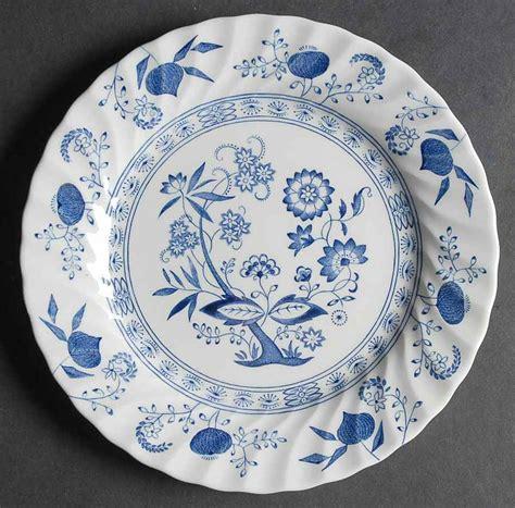 blue nordic pattern johnson brothers blue nordic onion design salad plate ebay
