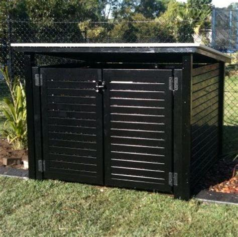 Pool Equipment Shed by Pool Air Conditioner Fence Cover 2012 Darwin