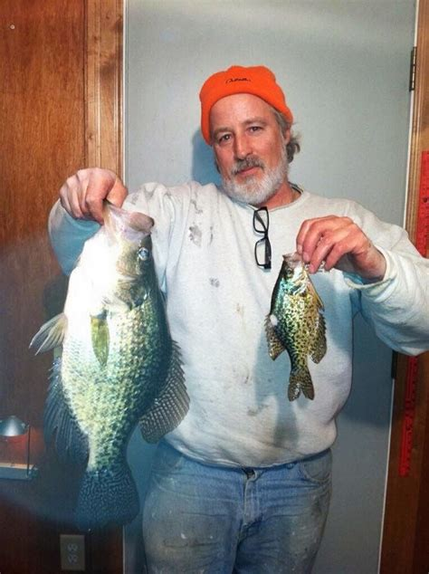 towne marina news feed huge crappie weighed  check