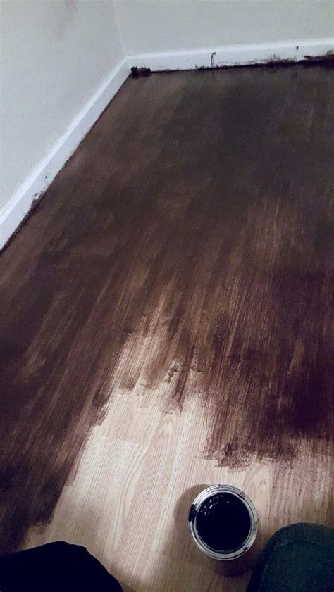 Can You Stain Laminate Wood Flooring by Gel Stain For Laminate Floors Diy Stain Laminate Floors