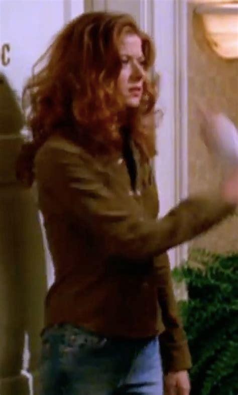 Debra Messings Birkin Handbag by Will Grace Clothes Fashion And Filming Locations Thetake