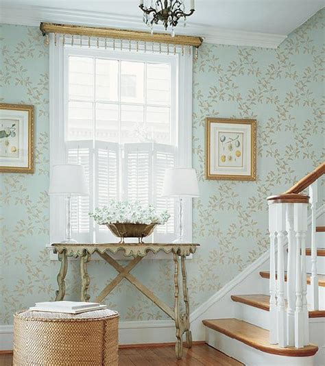 entryway wallpaper wallpaper for foyer cottage entrance foyer thibaut