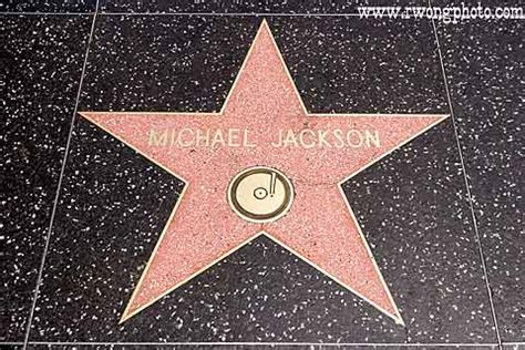 Michael Jackson Hollywood Walk of Fame Pictures Hollywood Walk Of Fame Stars Michael Jackson