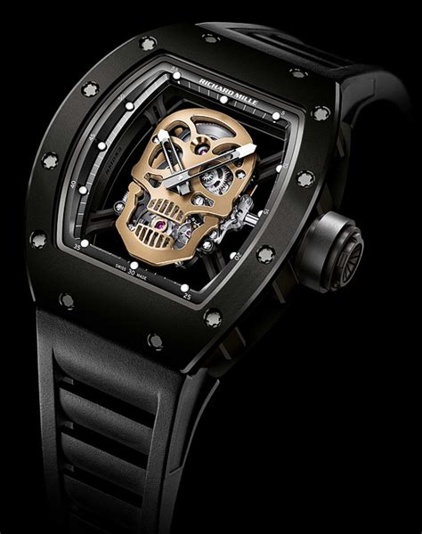 Richard Mille Rm011 Skull Blk Gld the quote the richard mille nano ceramic rm 52 01
