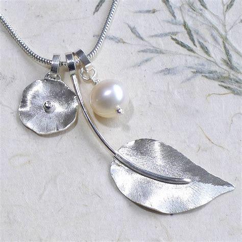 Handmade Pearl Jewellery Uk - handmade pearl charm necklace by lilia nash jewellery