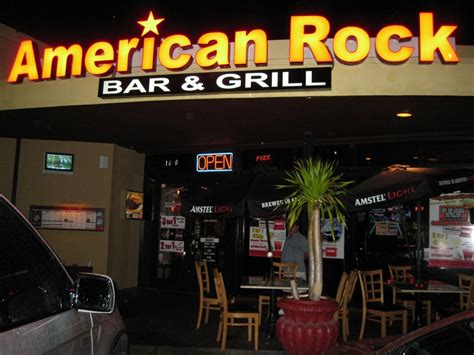 top bar and grill rock top bar and grill american rock bar grill deerfield