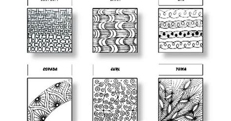 zentangle pattern yuma zentangle pattern sheet 7 patterns fans sand swirl