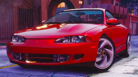 mitsubishi eclipse gsx mitsubishi eclipse gsx add on gta5 mods com
