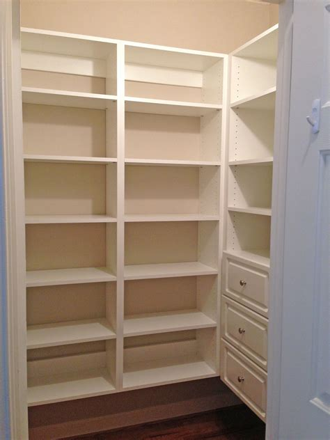pantry shelf gallery custom closets garages offices pantries