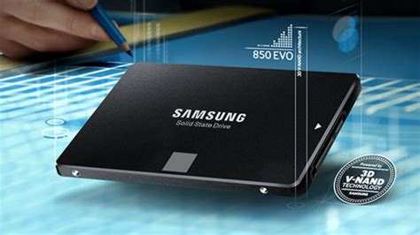 samsung announces 850 evo ssd with 3 bit 3d v nand