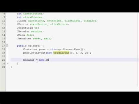 tutorial java gui pdf java gui tutorial 31 click counter timer part 1 of 4