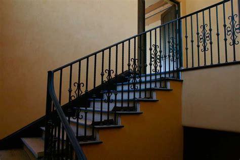 banister in spanish handmade wrought iron railing by demejico inc