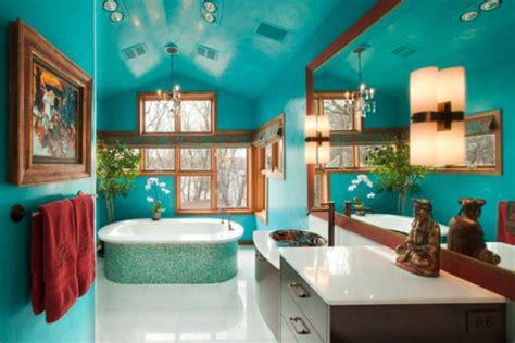 Bathroom Color Schemes Turquoise Interior Design Master Bathroom With Turquoise Color