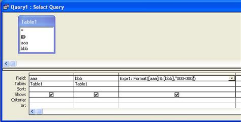 format date field in access query change format of query data in microsoft access