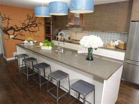kitchens with bars and islands kitchen island bars hgtv