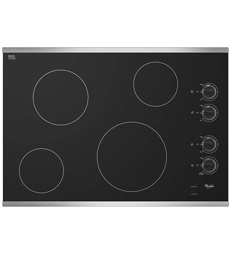 Ceran Cooktop Whirlpool W5ce3024xs 30 Quot Electric Cooktop