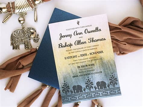 Indian Wedding Invitation Printing by Free Diy Modern Indian Wedding Invitation Print