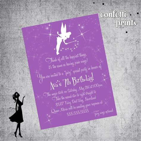 printable invitations tinkerbell 1129 best images about tinkerbell party on pinterest
