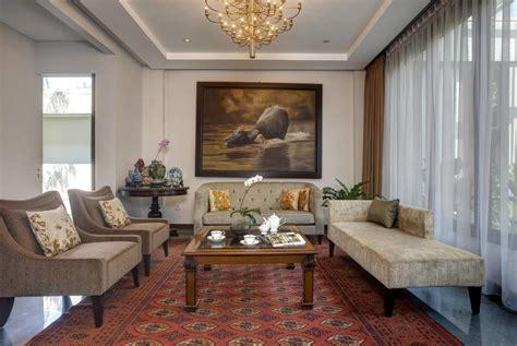 sentuhan warna emas  rumah mewah  elegan arsitag