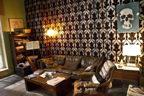 Sherlock Living Room Wallpaper by Sherlock Season 3 The Pictures Of Production And Set Design On The Show Metro News