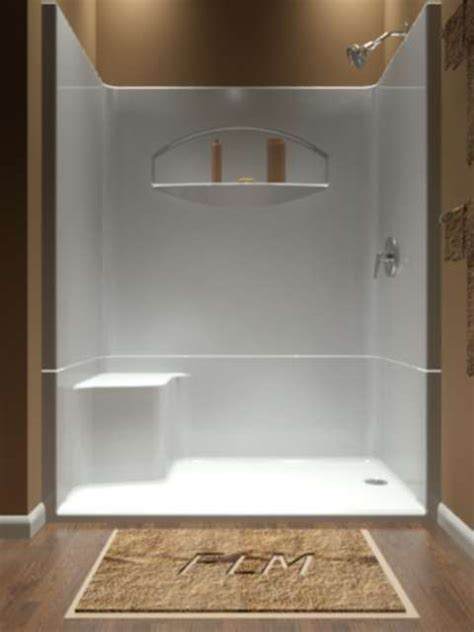 Sectional Piece Remodeler Shower