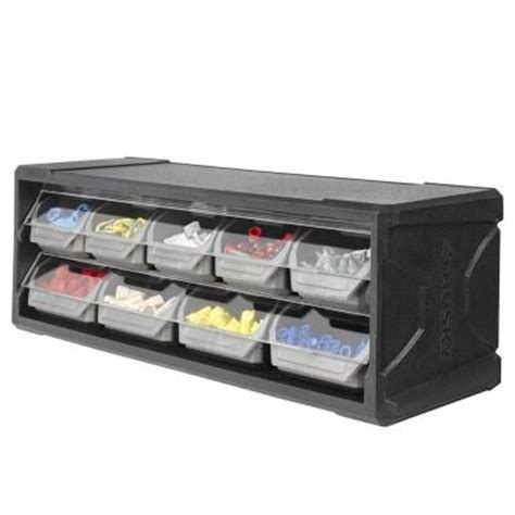 husky 9 drawer small parts organizer 222170 at the home