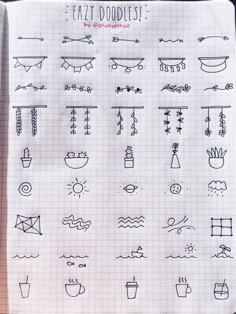 doodle new study 25 best ideas about simple doodles on simple