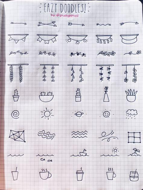 doodle productivity 25 best ideas about simple doodles on simple