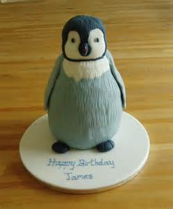 pinguin kuchen penguin cake on penguins winter
