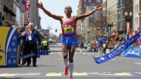 finish your marathon inside 5 hours with dr jim a dr s sport lifestyle guide books borges meb keflezighi wins for all of us boston herald