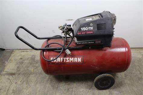 craftsman  air compressor property room