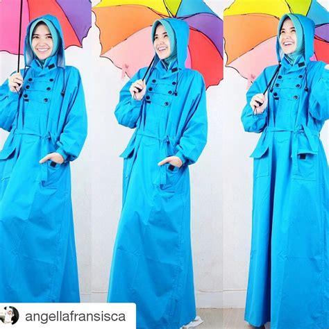 Jas Hujan Rok Muslimah Salsa jual jas hujan rok kupluk muslimah muslimah outdoor