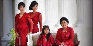 Baju Kebaya Ibu Ani Yudhoyono kebaya modis ibu ani yudhoyono