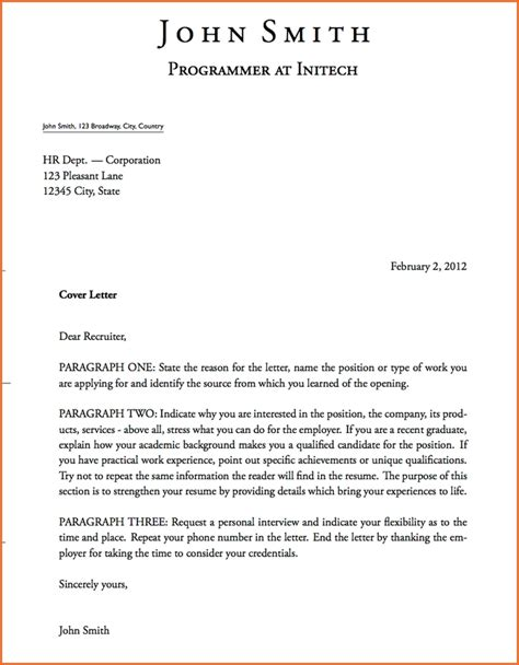 business form letter template form of letter letters font