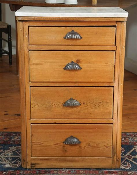 four drawer marble top end table for sale at 1stdibs