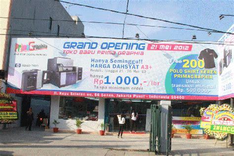 Kertas Di Toko Kemenangan Primagraphia Buka Cabang Di Senen Digital Printing Indonesia
