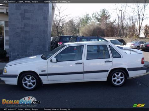 1995 volvo 850 sedan 1995 volvo 850 sedan white taupe photo 2 dealerrevs