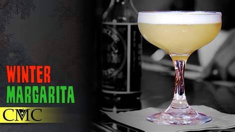 4 Best Drinks For Winter Time how to make the winter margarita cocktail