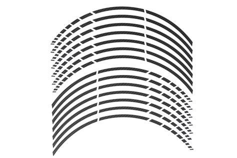 Felgenrandaufkleber Carbon by Gp 16 Quot Felgenaufkleber In Der Farbe Carbon Schwarz