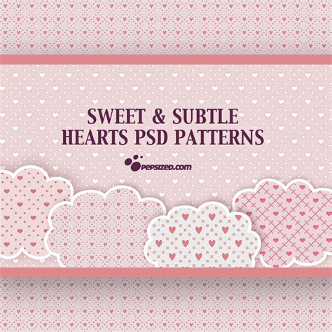 pattern in psd free hearts psd patterns photoshop patterns